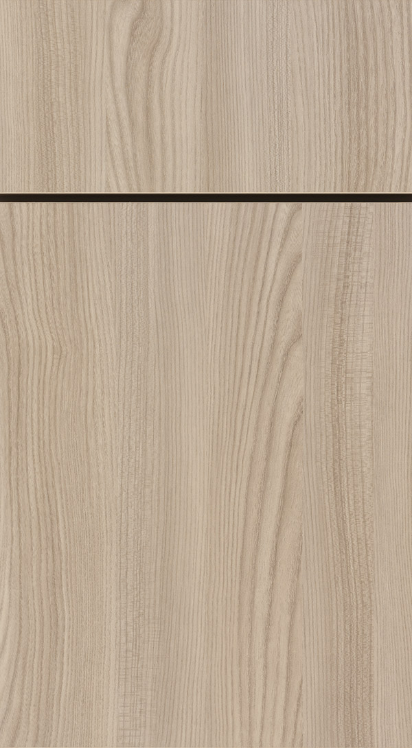 Juno Specialty Laminate cabinet door in Tusk finish