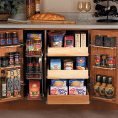 Kitchen Remodel Temporary Pantry Remodel Tips