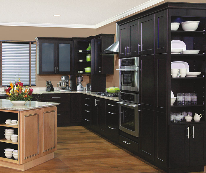 Dover shaker style cabinet doors homecrest cabinetry for All american kitchen cabinets