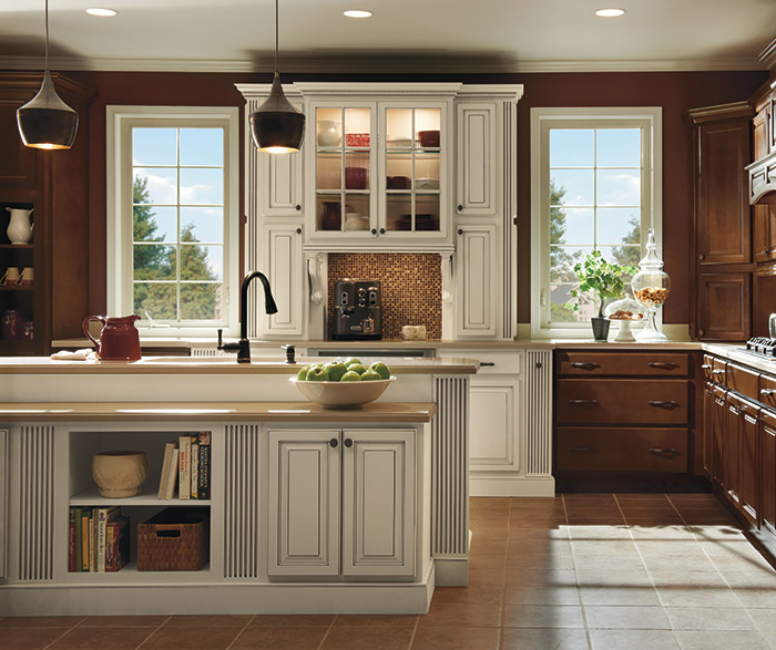 Large corbel homecrest cabinetry for All american kitchen cabinets