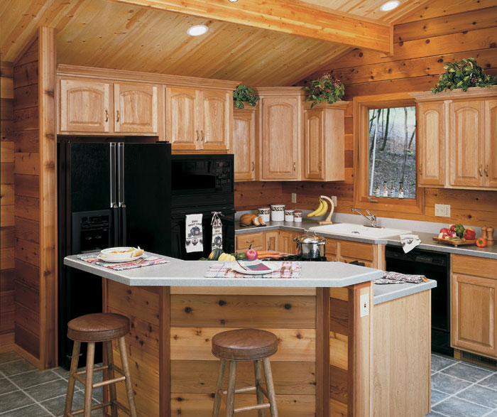 Heritage raised panel cabinet doors homecrest for All american kitchen cabinets