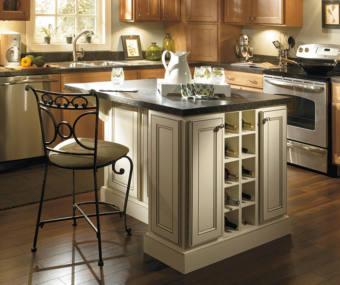 Jordan recessed panel cabinet doors homecrest for All american kitchen cabinets